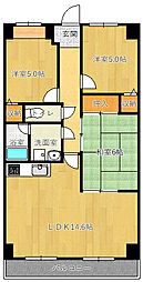 ニチゴマンション2[105号室]の間取り