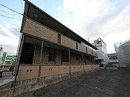 愛知県名古屋市中村区豊国通3丁目の賃貸アパートの外観