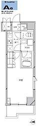 JR京浜東北・根岸線 川崎駅 徒歩21分の賃貸マンション 4階1Kの間取り