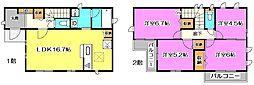 [一戸建] 東京都練馬区西大泉6丁目 の賃貸【/】の間取り