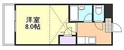 ミガール[1階]の間取り