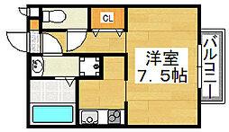 Una Casa Shinzaike[2階]の間取り