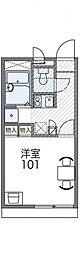 レオパレスイン京都[116号室号室]の間取り