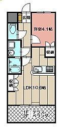 maison de Yuu[106号室]の間取り