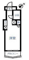 東京都足立区弘道2丁目の賃貸マンションの間取り
