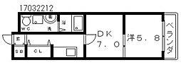 モコ05[2階]の間取り