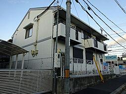大阪府富田林市小金台2丁目の賃貸アパートの外観