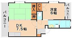 寺内ビル[3階]の間取り