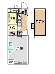 NAKAGOME[209号室]の間取り