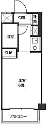 神奈川県川崎市宮前区宮崎5丁目の賃貸マンションの間取り