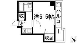 兵庫県伊丹市昆陽北1丁目の賃貸マンションの間取り