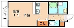 エスポアールOGAWAII[1階]の間取り