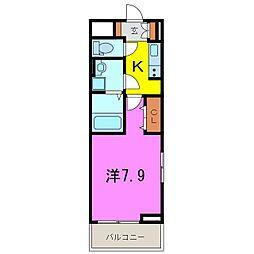 大府市 新築 ライズ フェルド[2階]の間取り