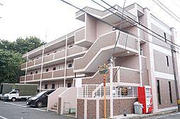 東京都立川市柏町2丁目の賃貸マンションの外観
