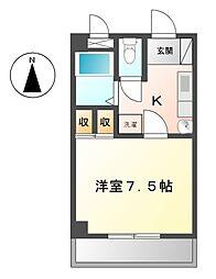 愛知県名古屋市緑区神の倉4丁目の賃貸マンションの間取り
