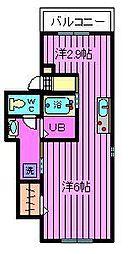 アルタイル氷川参道[3階]の間取り