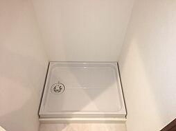 洗濯機も洗面所にばっちり設置できます