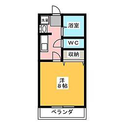 プチフール[2階]の間取り