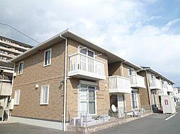 三重県四日市市万古町の賃貸アパートの外観