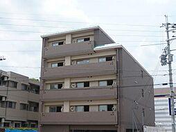 京都府京都市西京区御陵鴫谷の賃貸マンションの外観