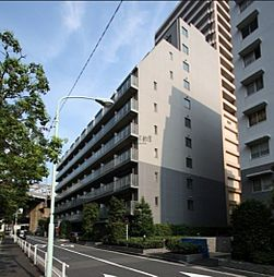 東京都港区港南3丁目の賃貸マンションの外観