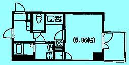 RISING STAGE[2階]の間取り