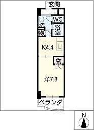 ESTATE YAMADA[2階]の間取り