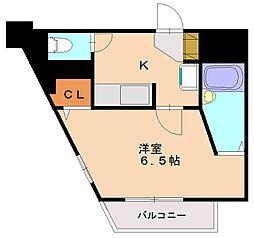 ルエメゾンロワール南福岡II[2階]の間取り