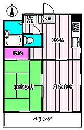 シルクハイム[2階]の間取り