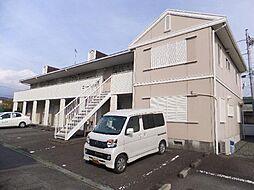 静岡県富士宮市若の宮町の賃貸アパートの外観