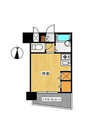 フェニックス北新宿エルミタージュ[704号室]の間取り