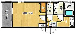 「ベラジオ京都西院ウエストシティ」[2階]の間取り
