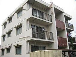 岸ハイツ[1階]の外観