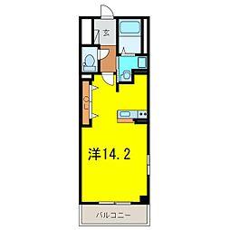 D−room刈谷市幸町[2021号室]の間取り
