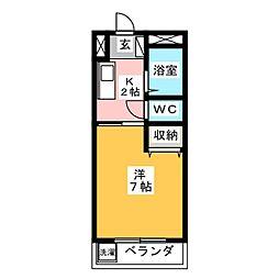 なかむらビル[3階]の間取り