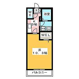 ビオーラ光[2階]の間取り