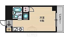 シャトーナカタ[2階]の間取り