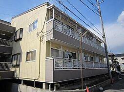 埼玉県川口市木曽呂の賃貸マンションの外観