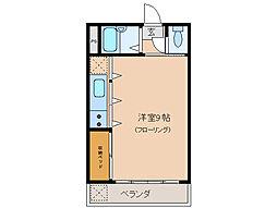 大海マンション[1階]の間取り