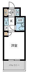 ウィンベルソロ蒲田第2[4階]の間取り