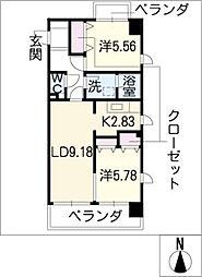 La FELMO 菊坂[10階]の間取り