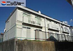 ハイツ・KR A棟[1階]の外観