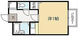 R.B.K[2階]の間取り