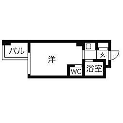 ドール栄5丁目[403号室]の間取り