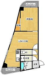 メゾンドジュネス寺塚[301号室]の間取り