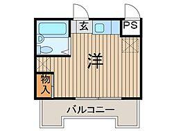 スカイコート西川口第5[6階]の間取り
