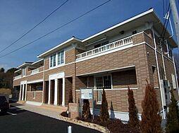 東京都立川市西砂町3丁目の賃貸アパートの外観