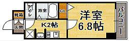 福岡県福岡市博多区堅粕1丁目の賃貸マンションの間取り