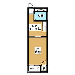 サンパレス覚王山II[2階]の間取り