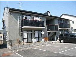 愛媛県松山市桑原1丁目の賃貸アパートの外観